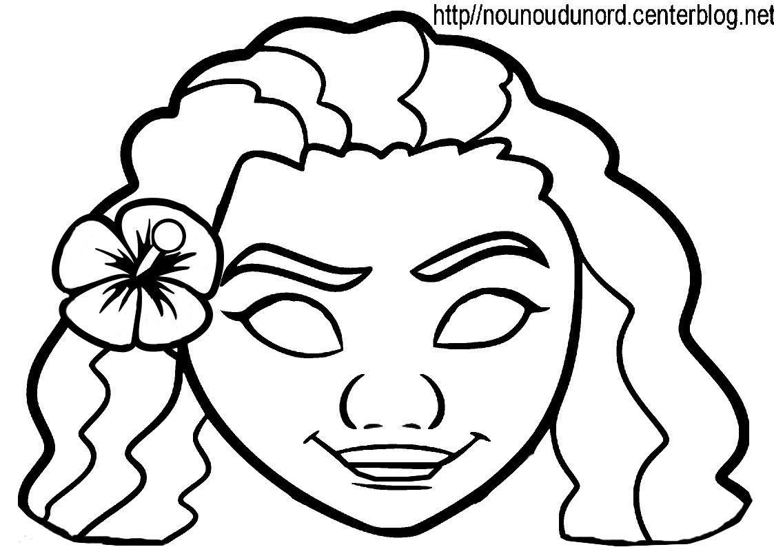 Activite Masque A Imprimer tout Masque Enfant A Colorier