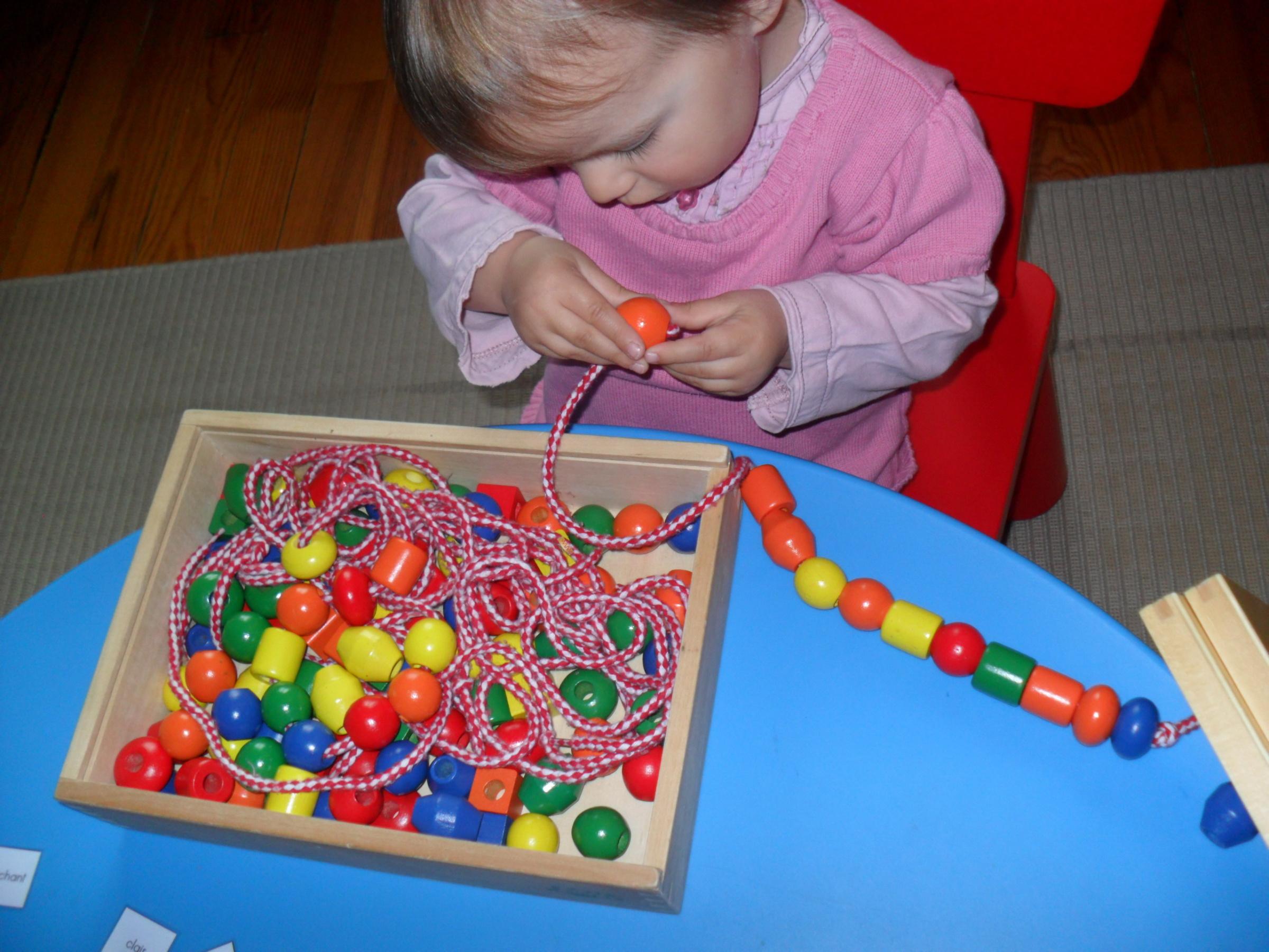 Activités 0-3 Ans - Les Ateliers De Cathy pour Activité Montessori 3 Ans