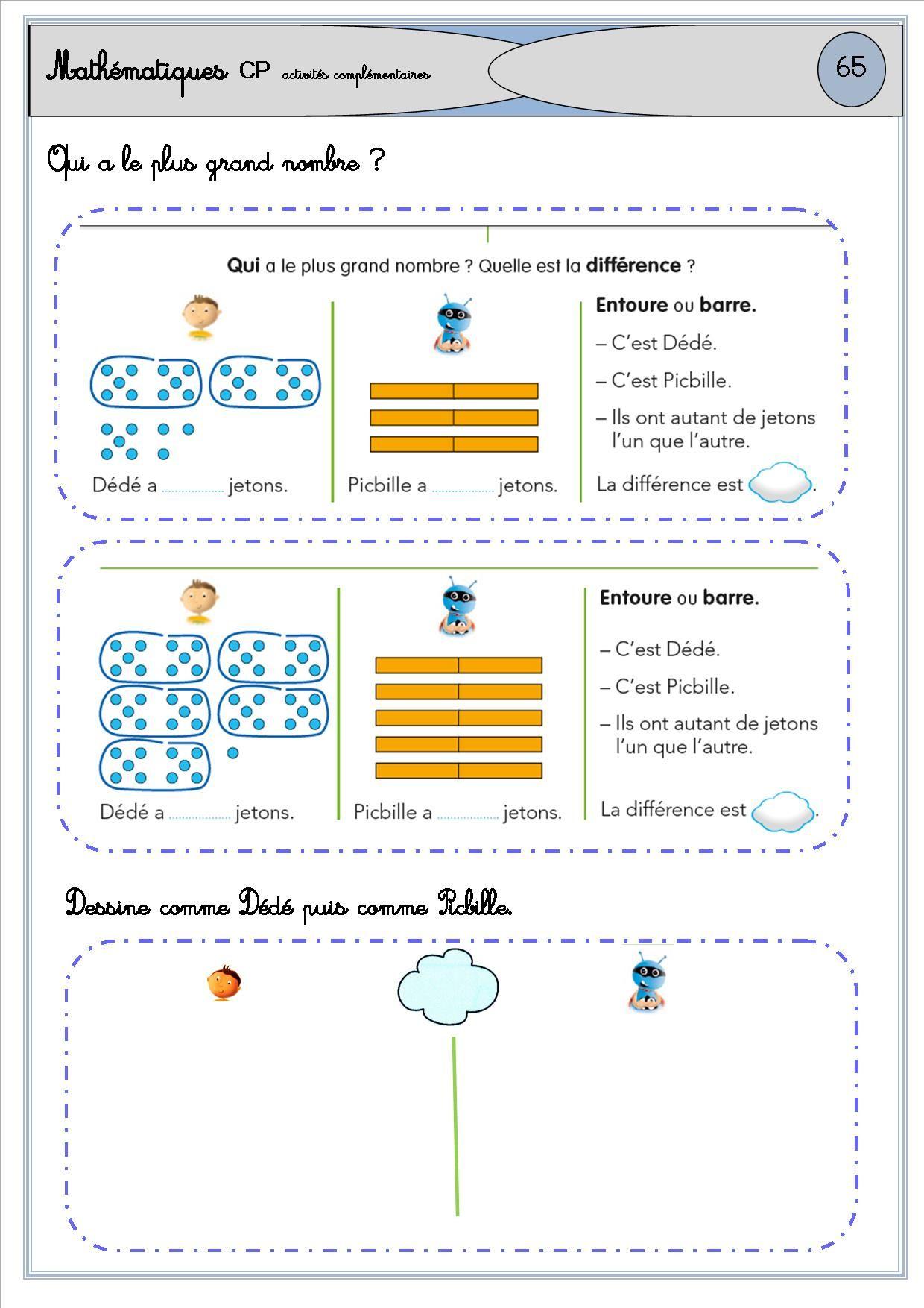 Activités Complémres Période 3 | Picbille, Mathematique avec Jeux Éducatifs En Ligne Cp