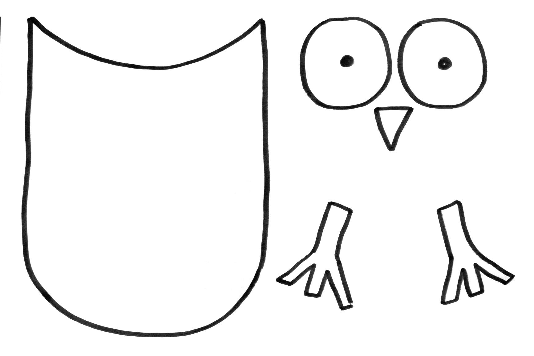 Activités Du Mois avec Hibou A Imprimer