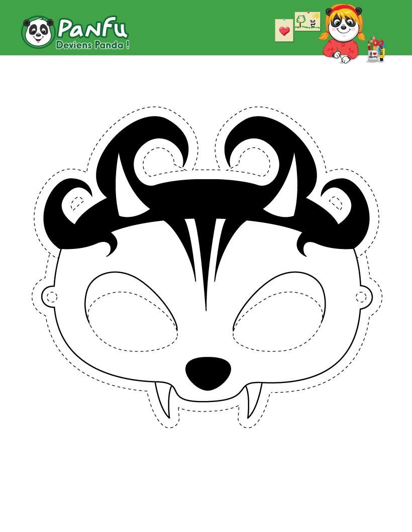 Activités Manuelles Masque De Catwoman - Fr.hellokids pour Masque De Catwoman A Imprimer