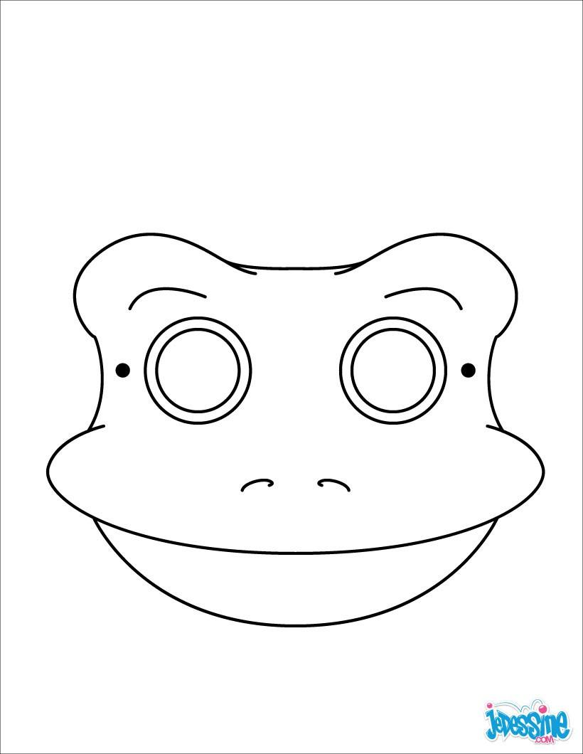 Activités Manuelles Masques A Decouper - Fr.hellokids dedans Masque À Imprimer Animaux