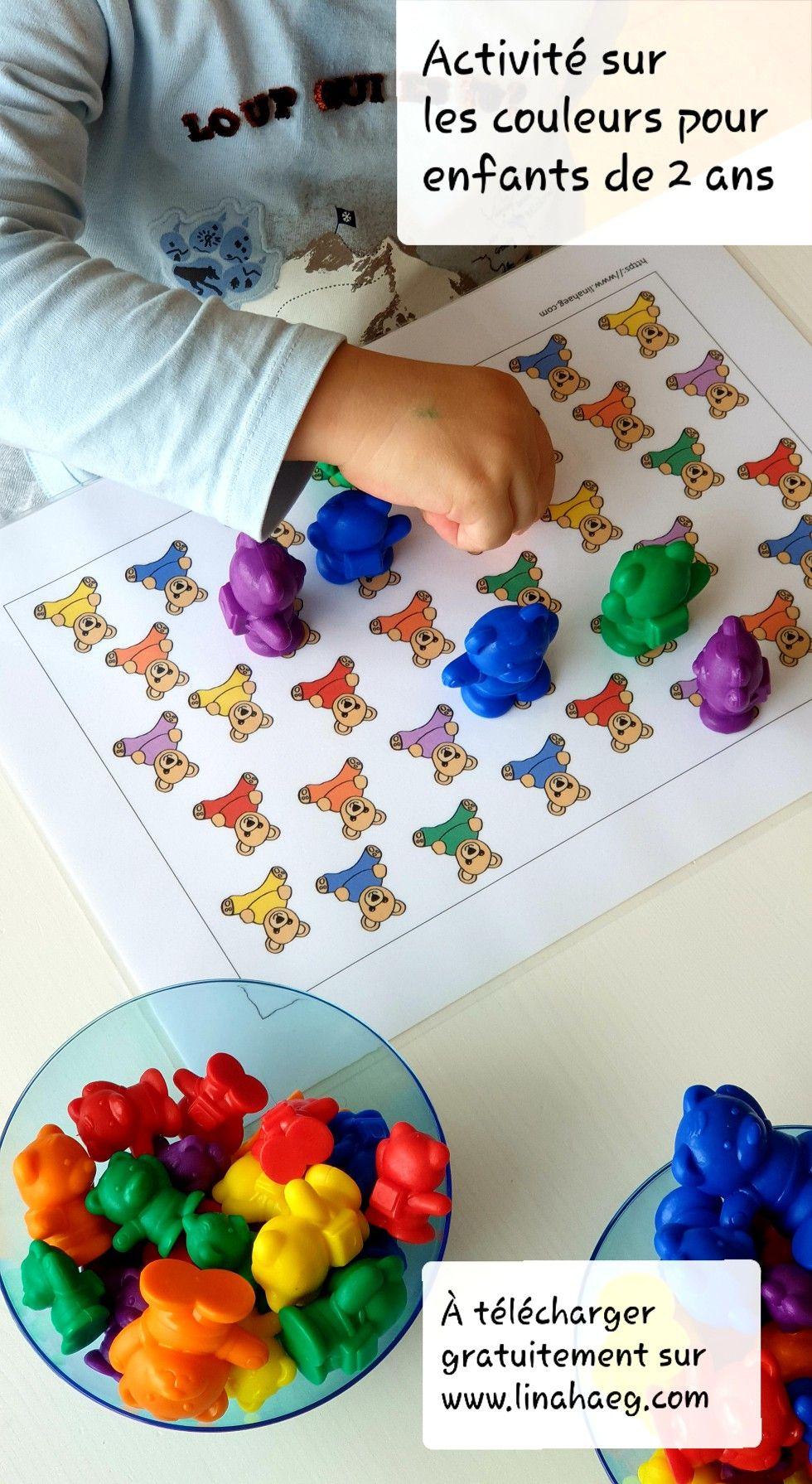 Activités Pour Les Enfants De 2 À 3 Ans Autour Du Thème Des pour Activité 2 3 Ans