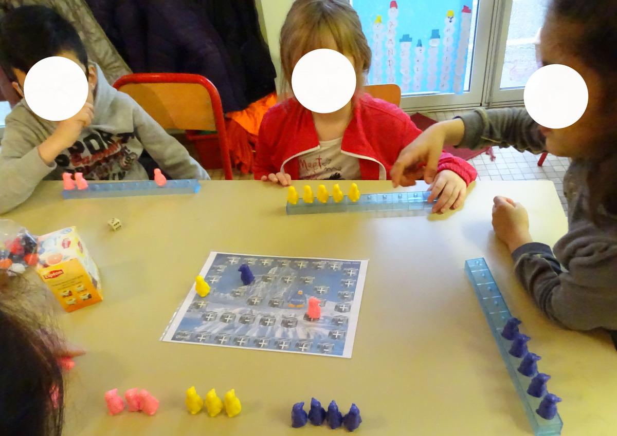 Additionner Soustraire Avec Les Pingouins Ms-Gs Début Cp destiné Jeux Educatif Gs