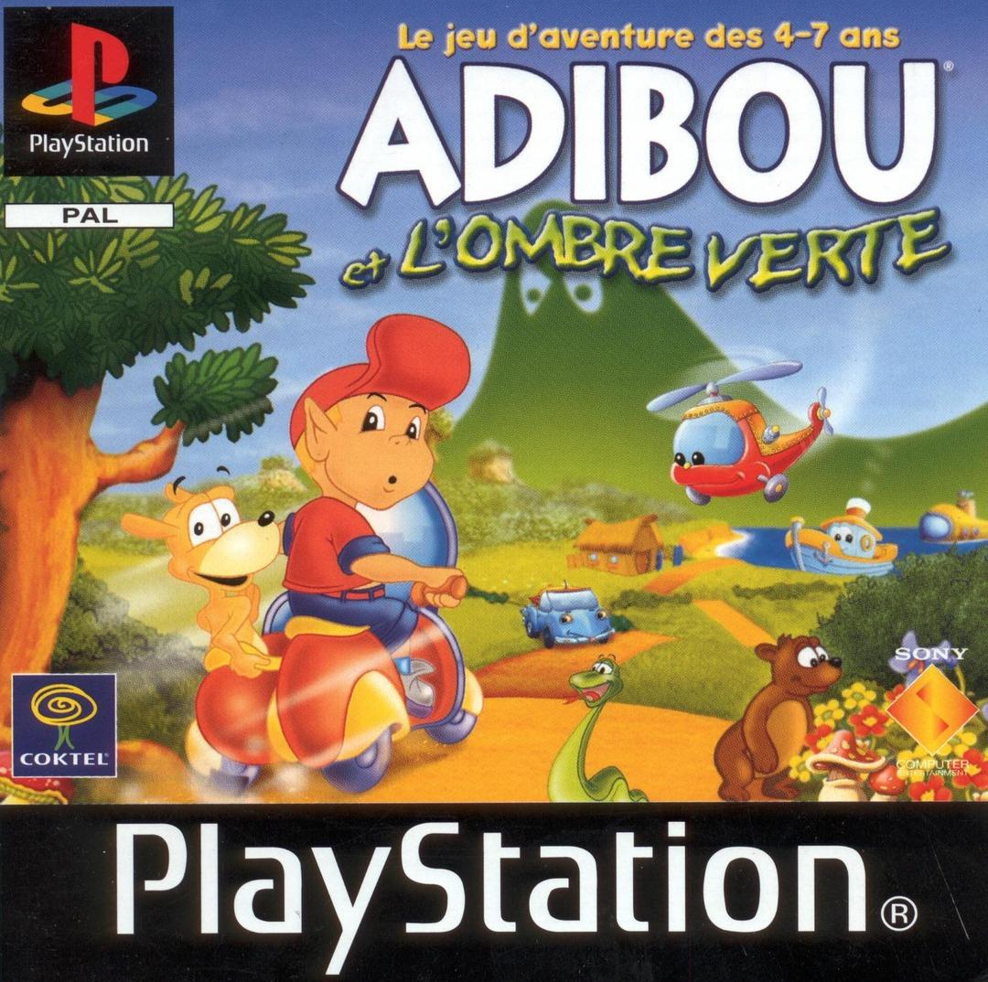 Adibou Et L'ombre Verte Sur Playstation - Jeuxvideo dedans Jeu Pc Adibou