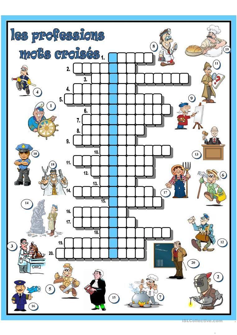 Afbeeldingsresultaat Voor Indiquer Le Chemin Exercices Fle à Définition Des Mots Fléchés