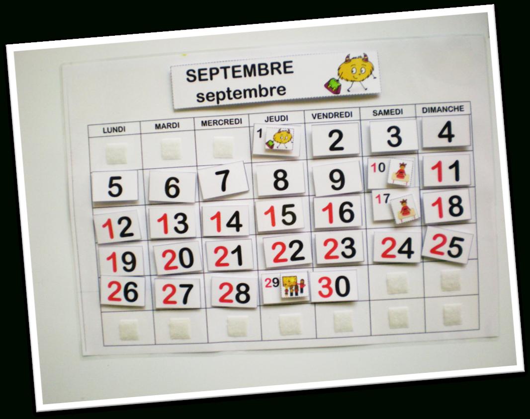 Affichages Cycle 1 – Calendrier Perpétuel – Le Blog De serapportantà Calendrier Perpétuel À Imprimer