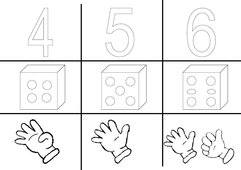 Affichages Nombres Maternelle - Le Tableau Blanc avec Graphisme Gs A Imprimer