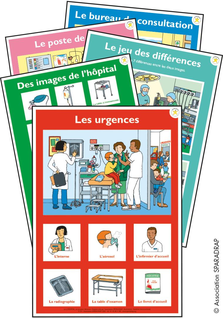 Affichettes Du Lotopital | Sparadrap destiné Jeu Des 7 Différences À Imprimer