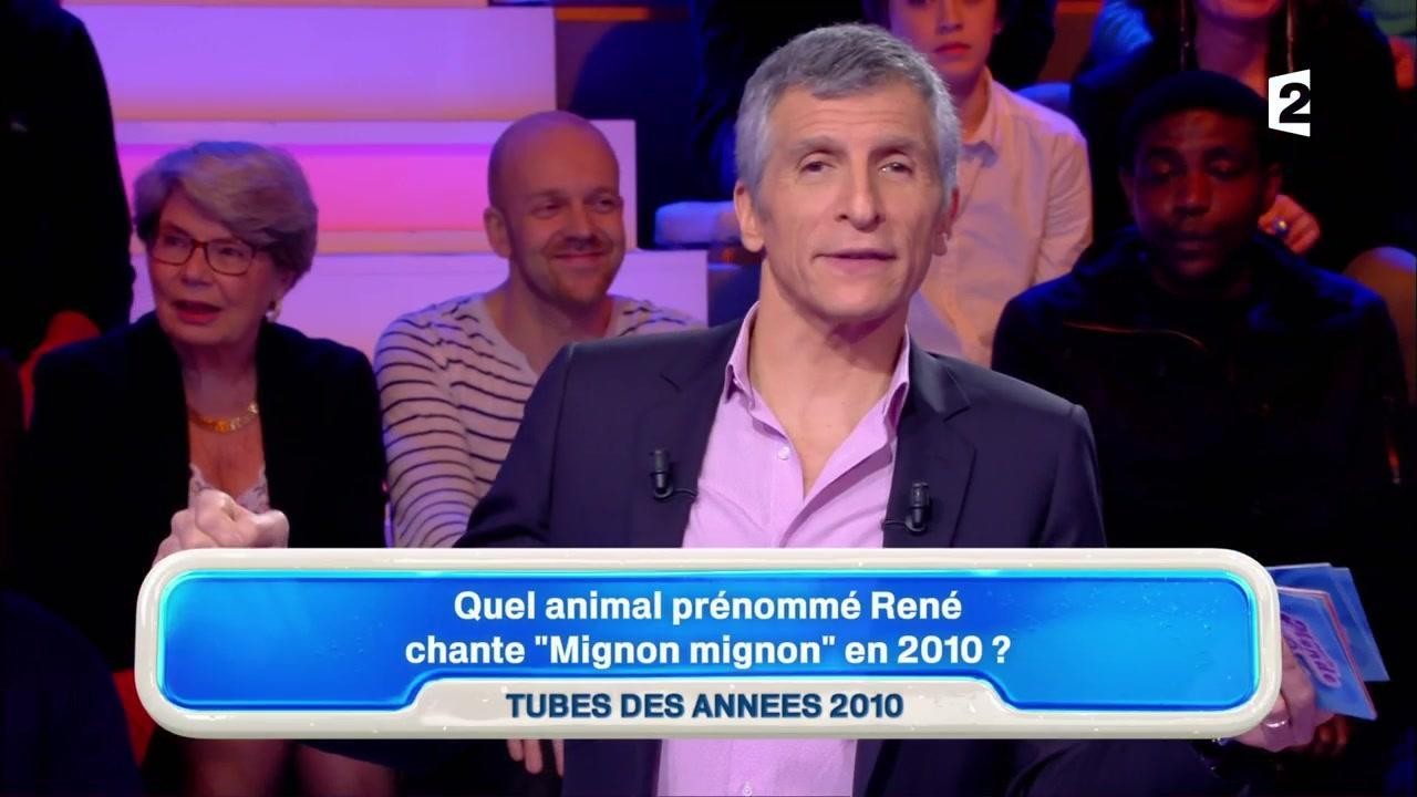 Agacé, Nagui Critique Les Paroles De René La Taupe ! intérieur La Taupe Musique