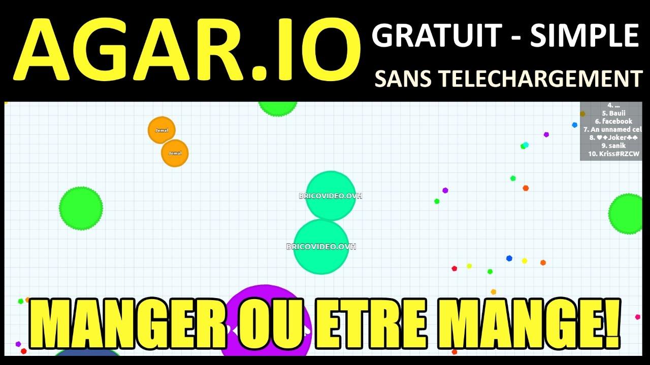 Agario Jeu Commande Presentation Test Avis Jeux Gratuit Et Sans Inscription intérieur Jeu De Brique Gratuit