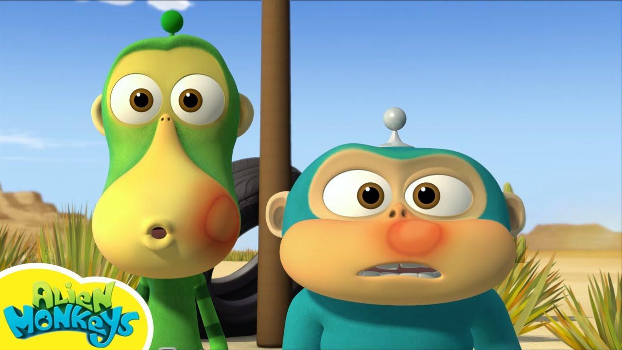 Alien Monkeys En Français, Collection #4 Vending Machine tout Sam Le Tracteur Dessin Anime
