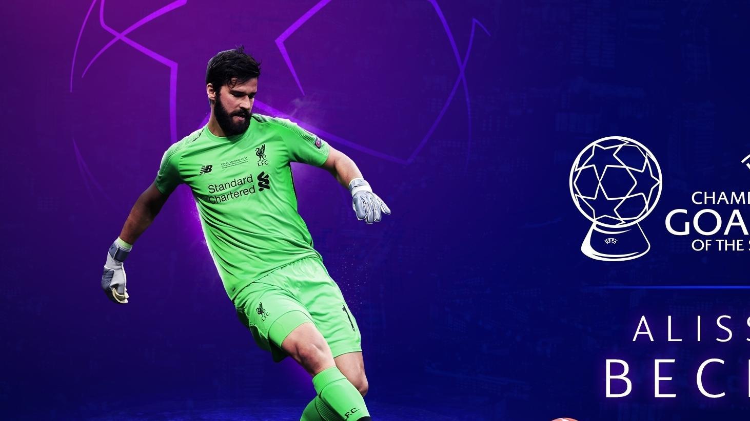 Alisson Becker : Gardien De La Saison | Uefa Champions pour Jeux De Gardien De Foot