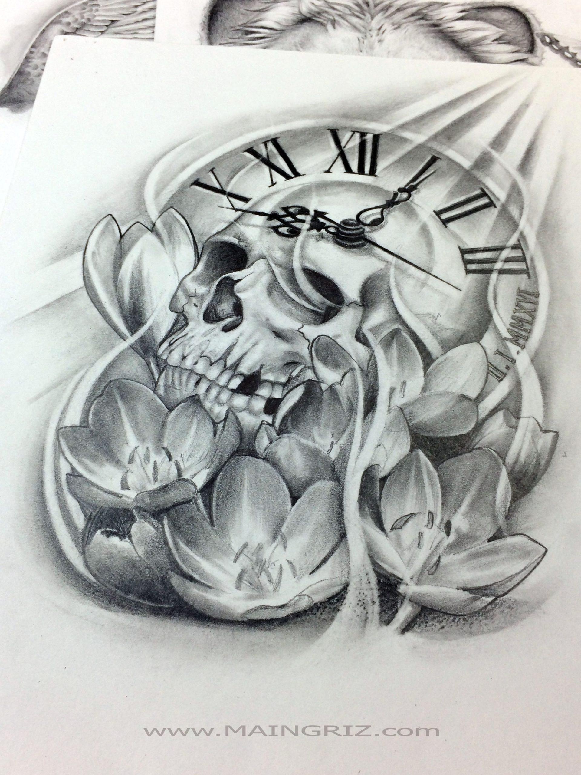 Allan | Maingriz Tattoo Design avec Dessin Chiffre Romain