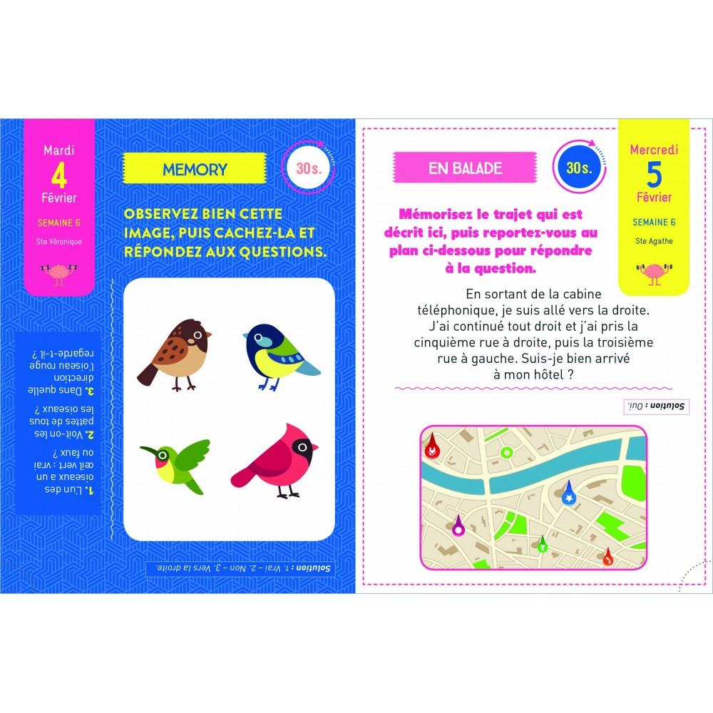 Almabook 365 Jours Pour Avoir Une Mémoire D'Enfer 2020 pour Jeux De Mimoire