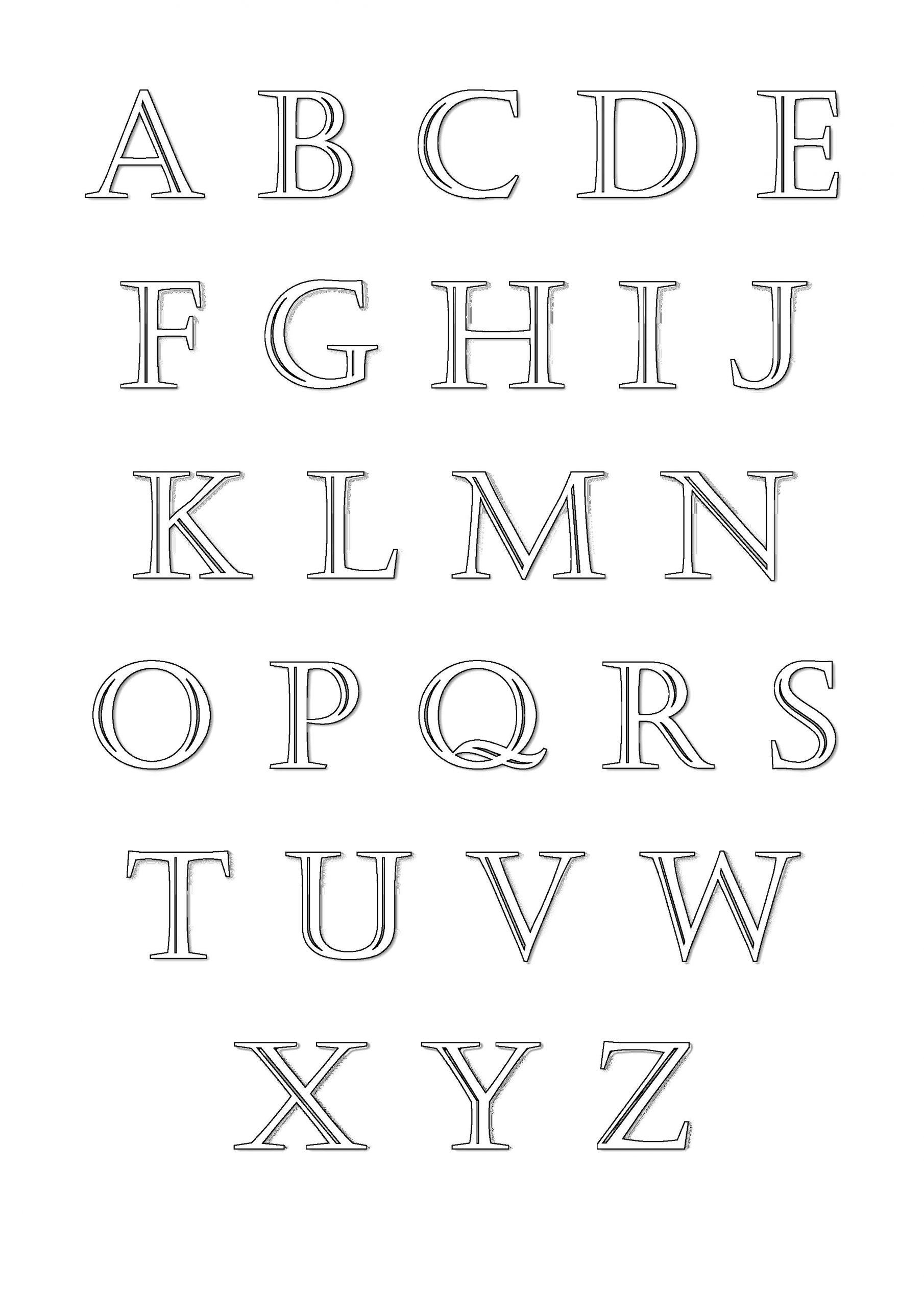 Alphabet #89 (Éducatifs) – Coloriages À Imprimer serapportantà Alphabet Français À Imprimer