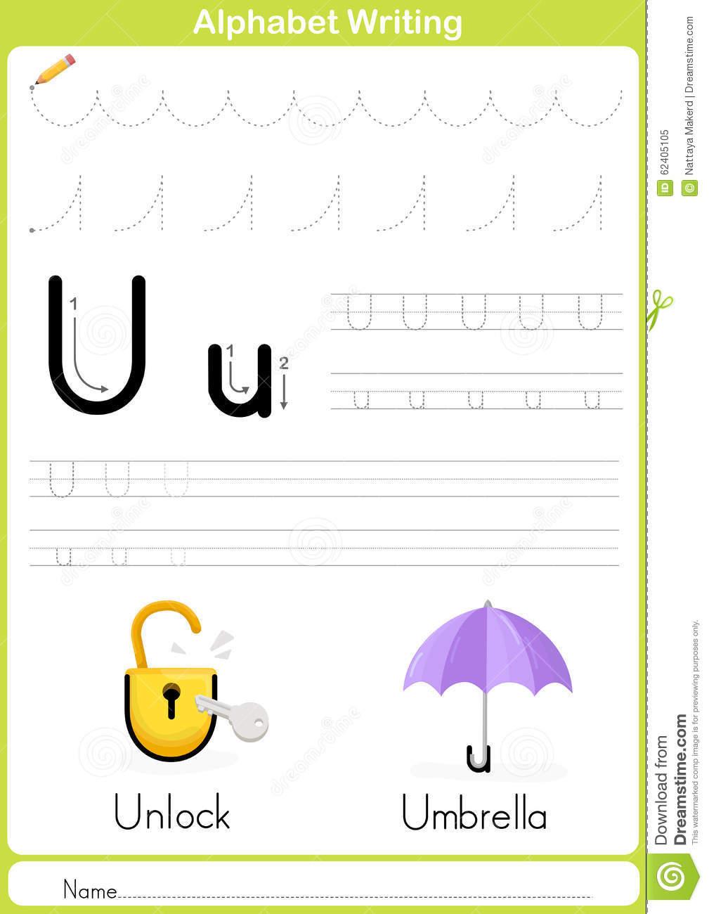 Alphabet A-Z Tracing Worksheet, Exercices Pour Des Enfants à Alphabet Français À Imprimer