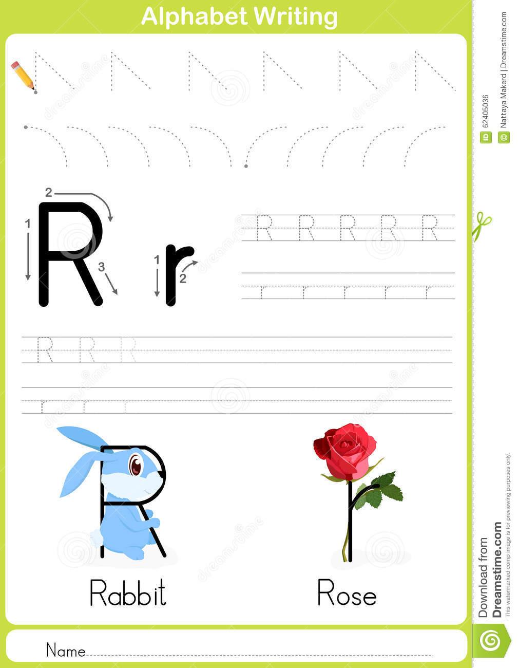 Alphabet A-Z Tracing Worksheet, Exercices Pour Des Enfants avec Alphabet Français À Imprimer