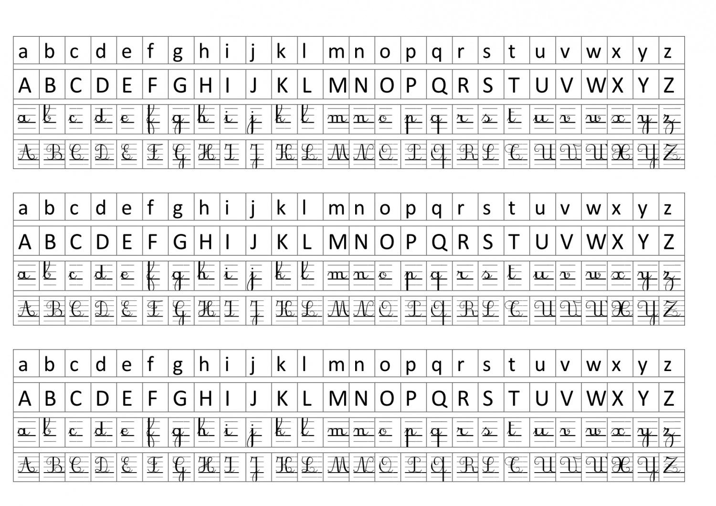 Alphabet- Affichage | Bout De Gomme concernant Point À Relier Alphabet