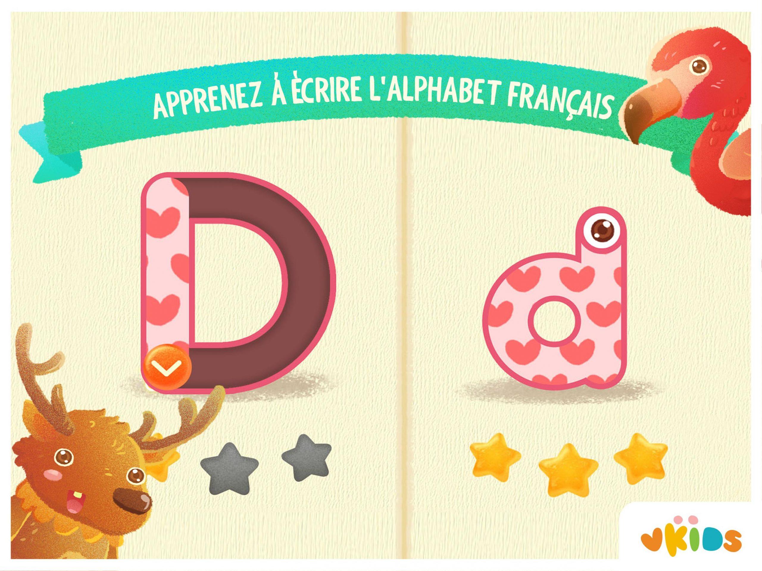 Alphabet - Apprendre A Lire For Android - Apk Download encequiconcerne Apprendre Alphabet Francais