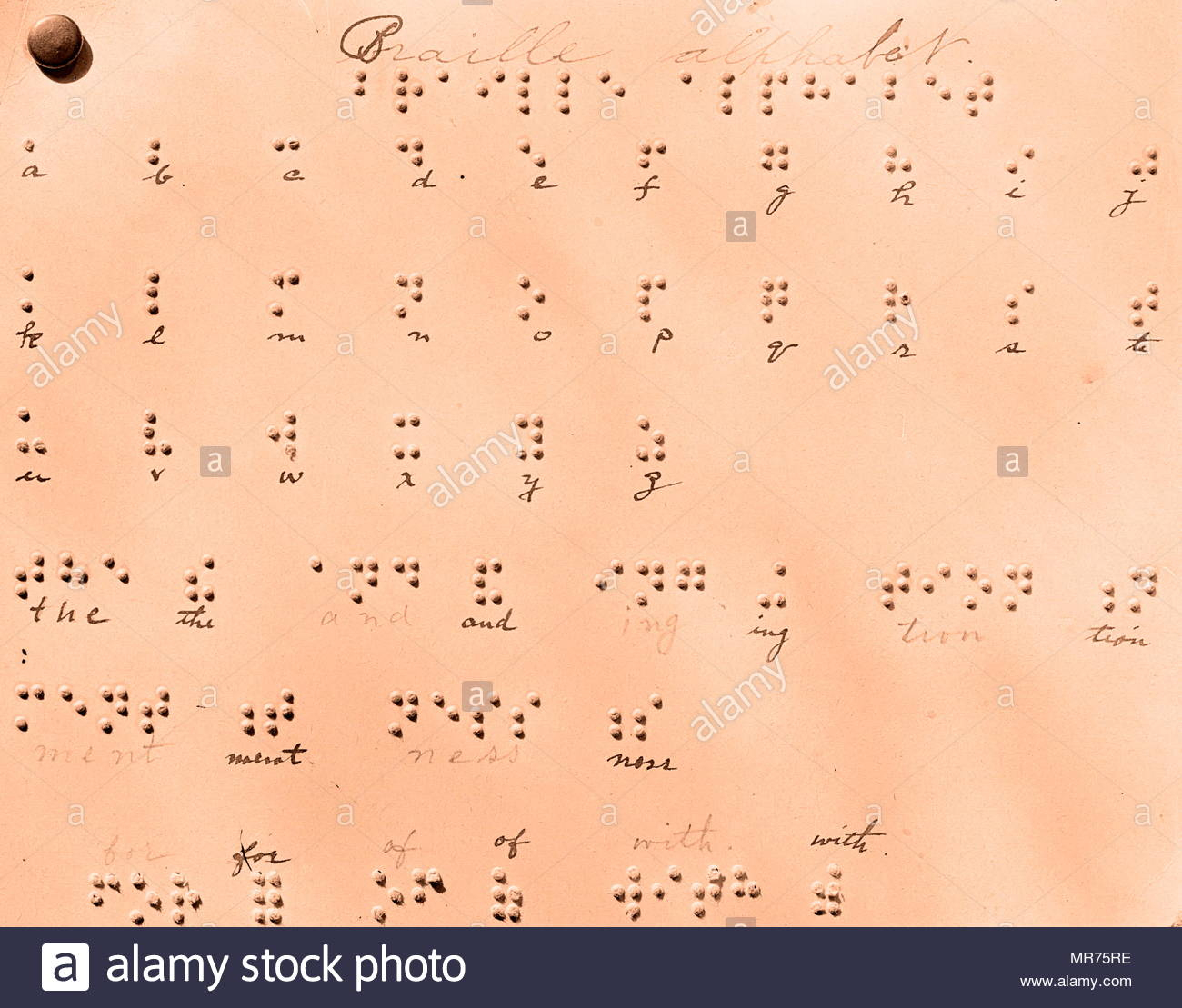 Alphabet Braille, Un Système D'écriture Tactile Utilisé Par destiné Alphabet Français Écriture