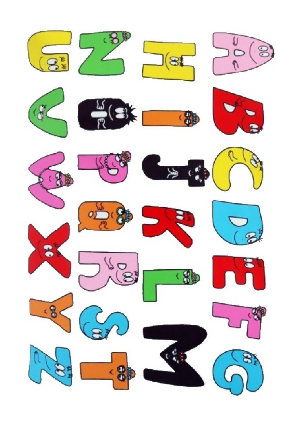 Alphabet Lettre A Imprimer concernant Lettre De L Alphabet A Imprimer Et Decouper