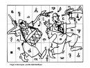Alphabet: Puzzle Alphabétique Grande Section Cp - École à Lettre De L Alphabet A Imprimer Et Decouper