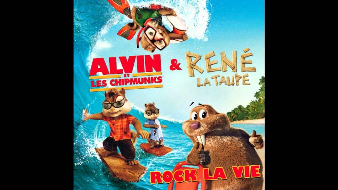 Alvin Et Les Chipmunks - René La Taupe - Rock La Vie - destiné La Taupe Musique