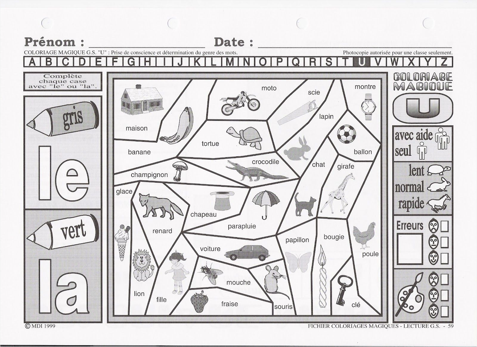Amazing 70 Magique Cp Lecture Coloriage Dessin - Coloriage serapportantà Coloriage Magique Alphabet Cp
