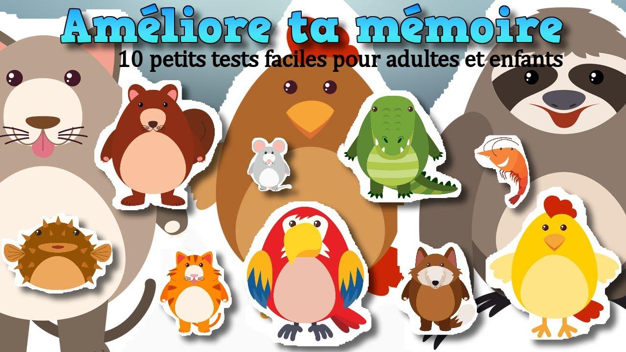 Améliore Ta Mémoire Avec Ces 10 Petits Jeux Faciles | Jeu De Mémoire  Gratuit Pour Adultes Et Enfants avec Jeux Gratuit De Memoire