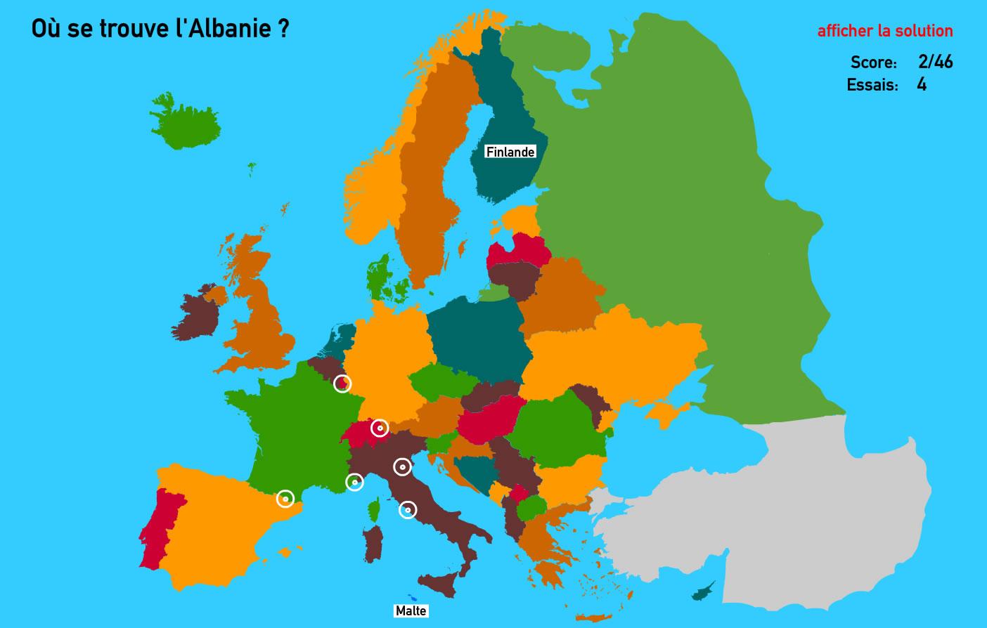 Améliorer Vos Connaissances En Géographie à Jeux Géographique