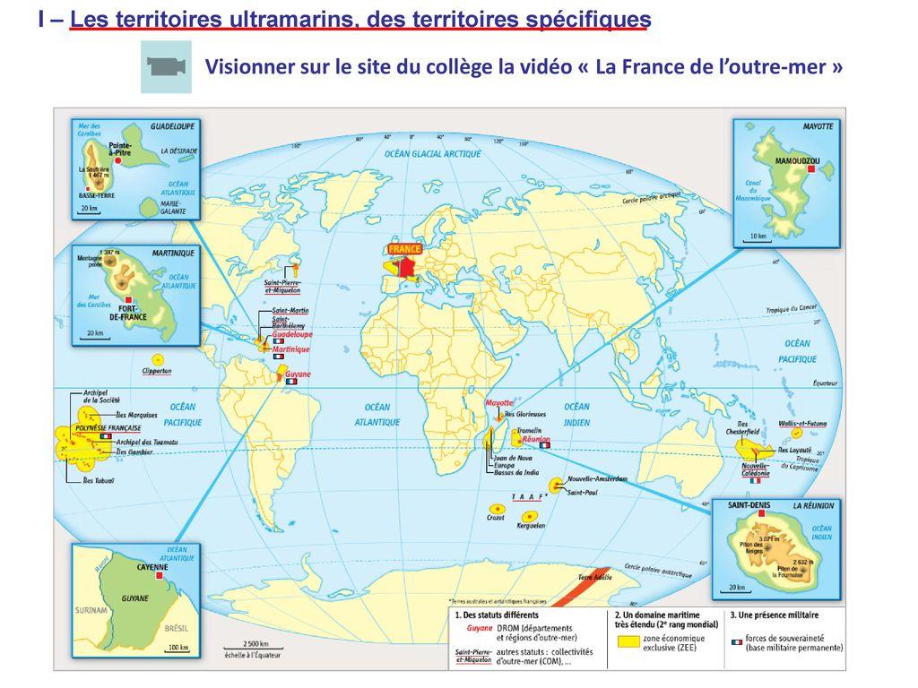Aménager Les Territoires Ultramarins - Ppt Télécharger encequiconcerne France Territoires D Outre Mer