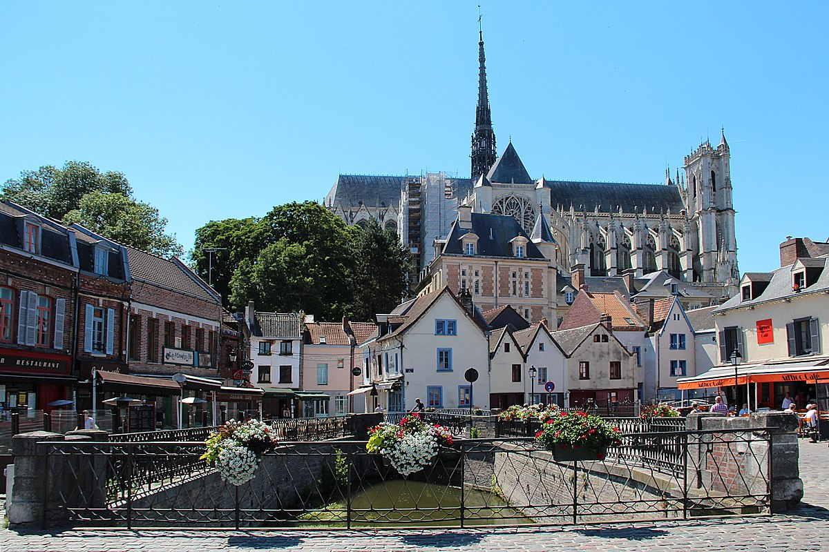 Amiens - Wikipedia à Combien De Region En France