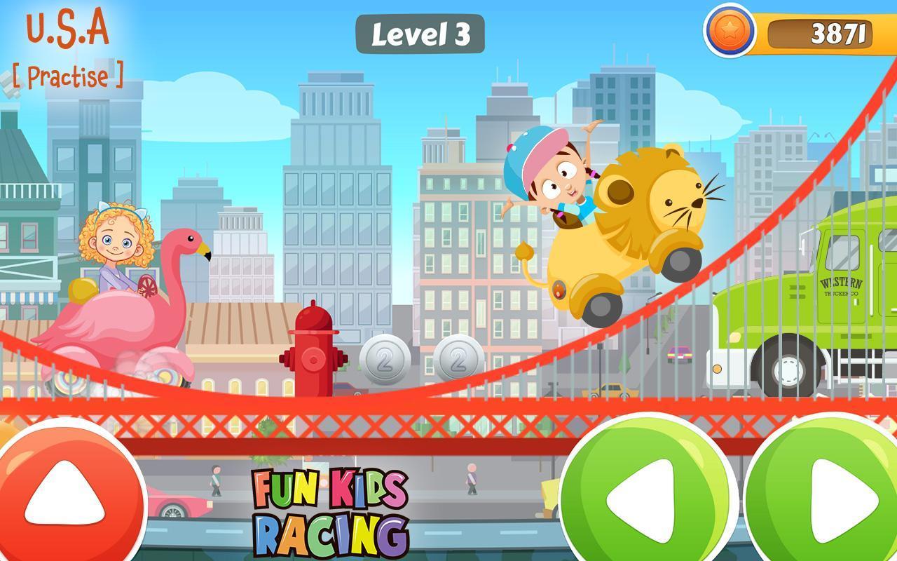 Amusant Jeu De Course Pour Enfant Pour Android - Téléchargez concernant Jeux Course Enfant