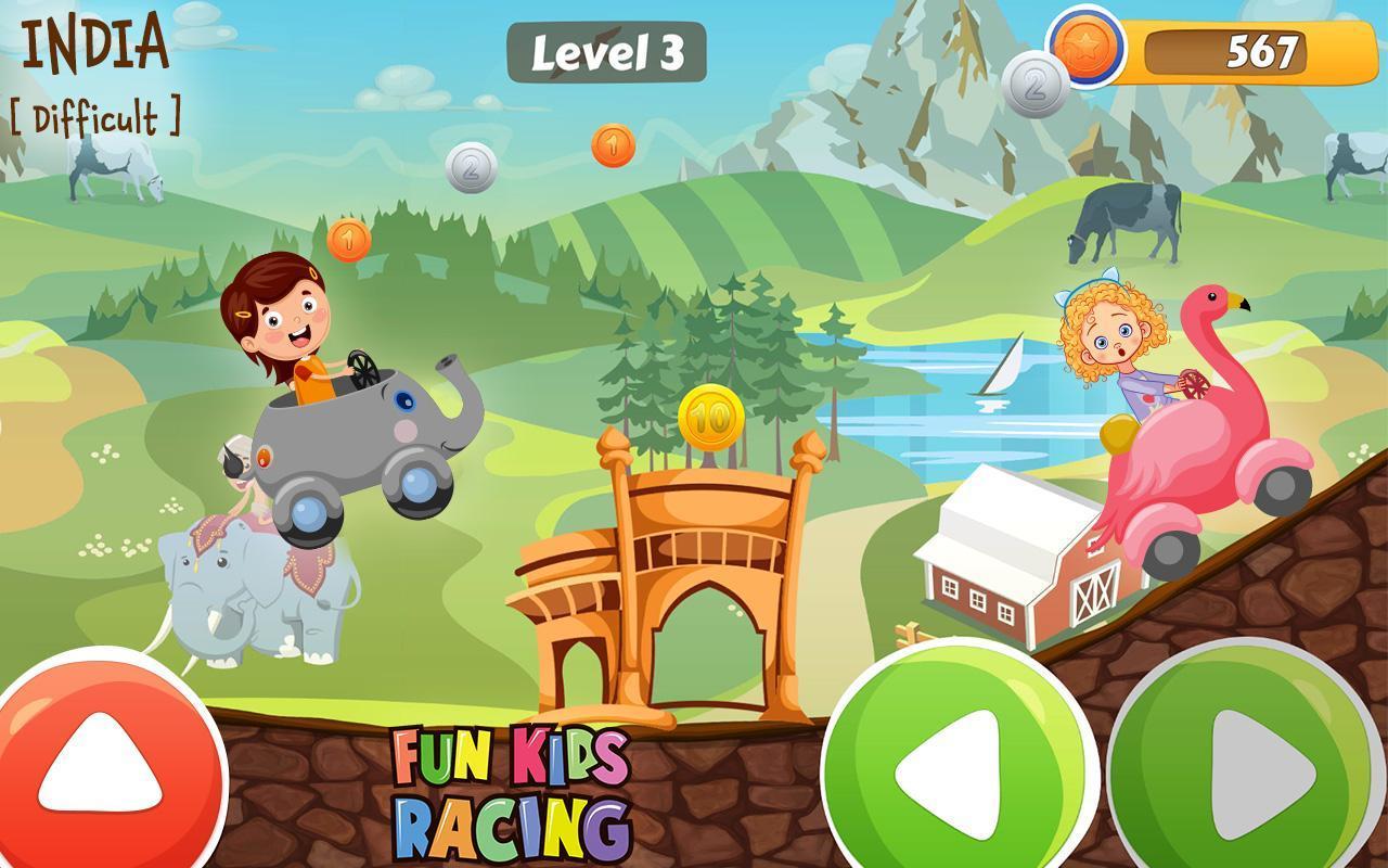 Amusant Jeu De Course Pour Enfant Pour Android - Téléchargez pour Jeux De Course Pour Enfants