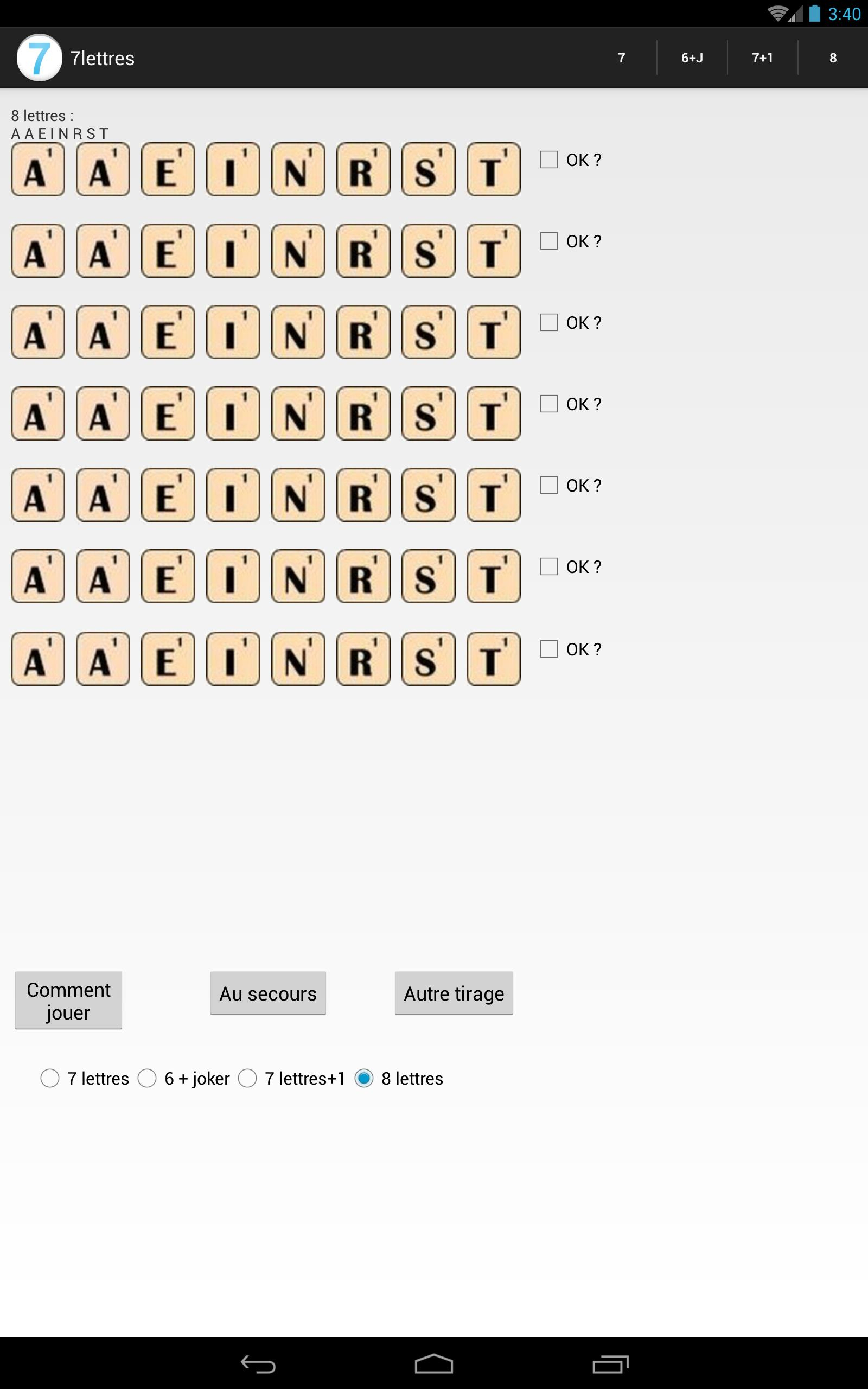 Anagrammes 7 Lettres For Android - Apk Download avec Jeux Anagramme Gratuit A Telecharger