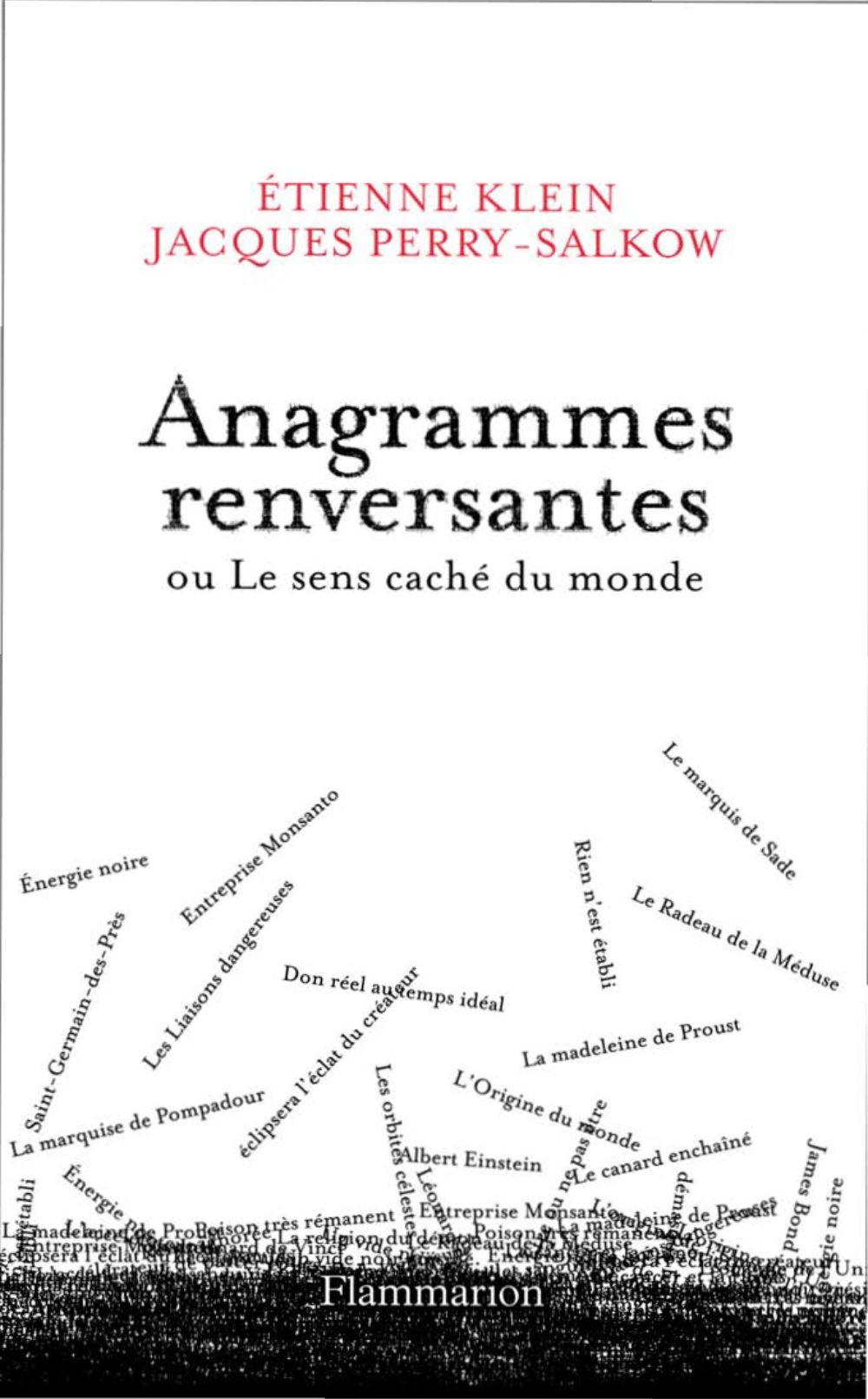 Anagrammes Renversantes – Coups De Coeur Littéraires (Et Plus) serapportantà Anagrammes À Imprimer