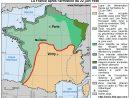 Analyse De La Carte De France Après L'armistice Du 22 Juin 1940 concernant Carte De France Grande Ville