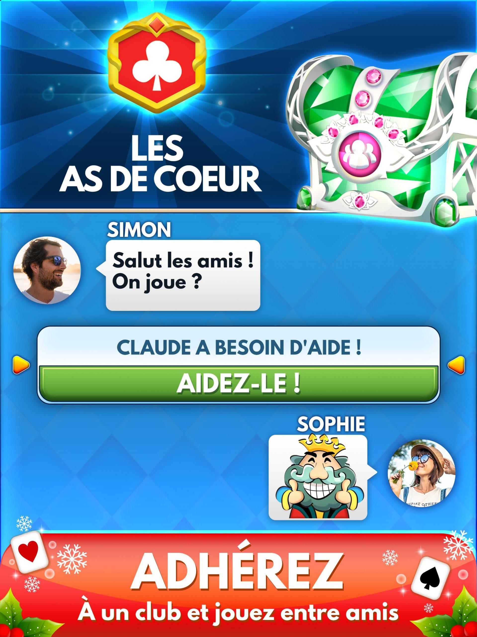 Android Için Belote & Coinche : Le Défi - Jeu En Ligne avec Jeux De Rebus