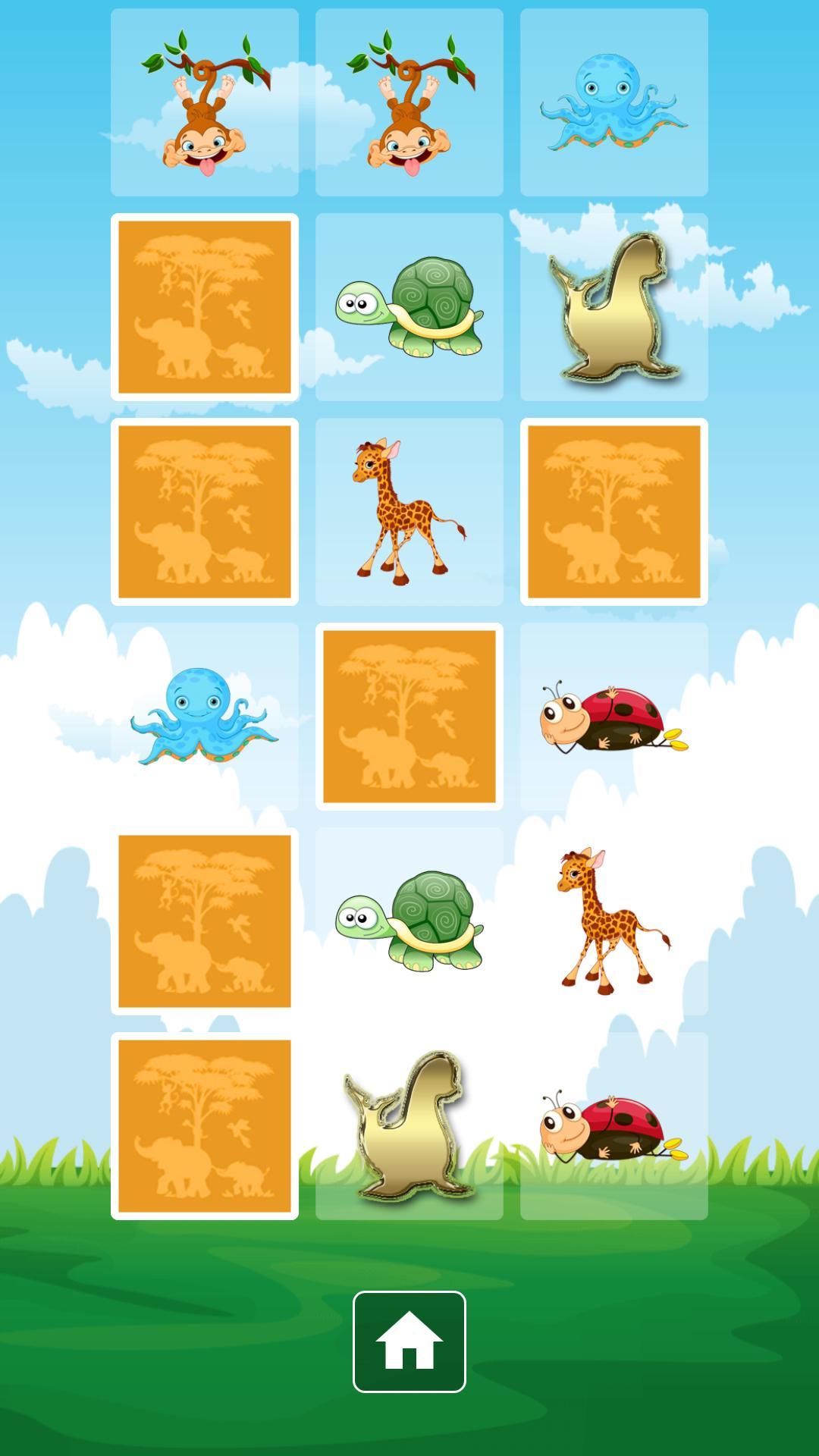 Android Için Memory Zoo Anime Pour Les Enfants - Apk'yı İndir dedans Memory Enfant Gratuit