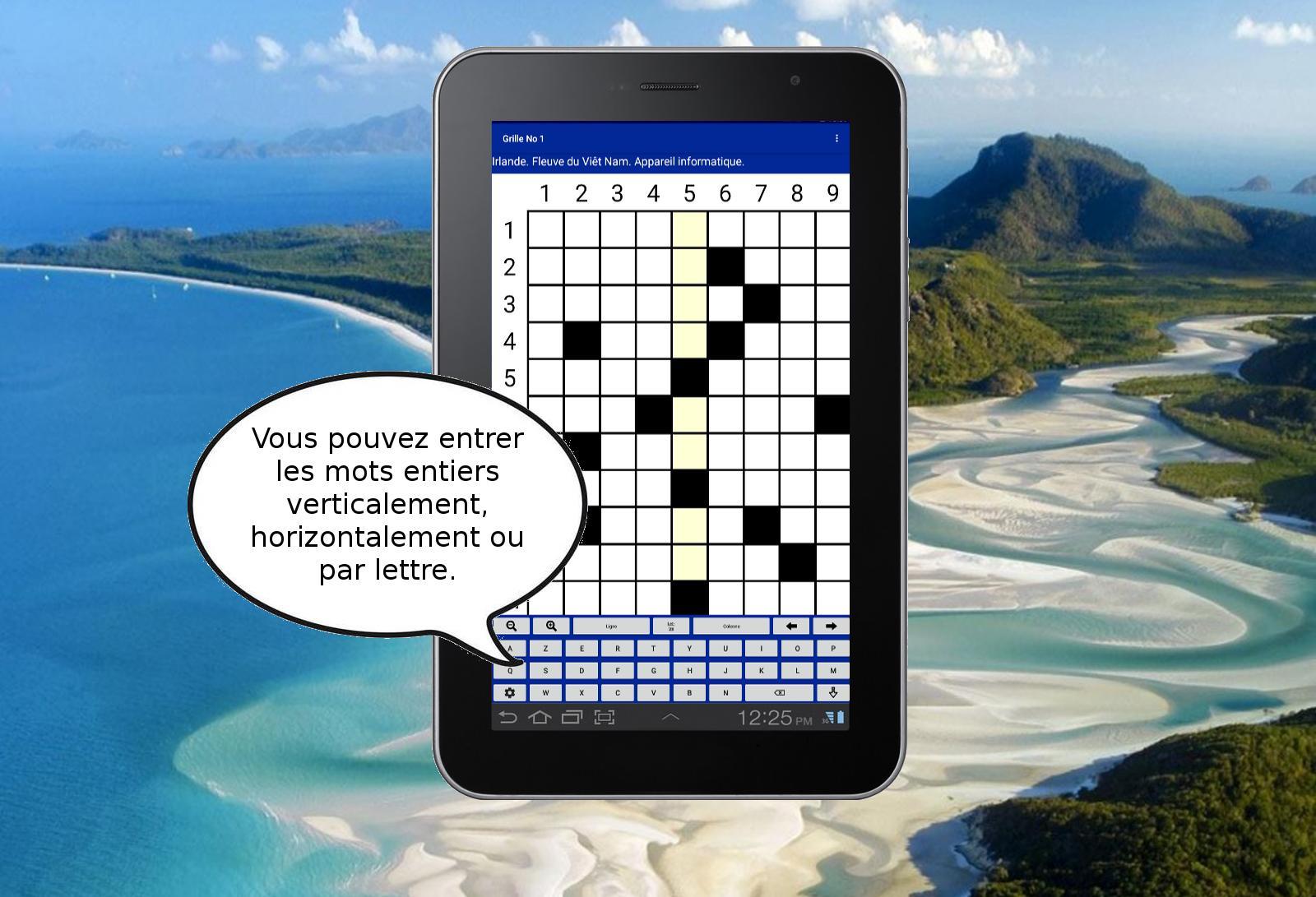 Android Için Mots Croisés Gratuits 2 - Jeu De Lettres. - Apk destiné Jeu De Mot Croisé