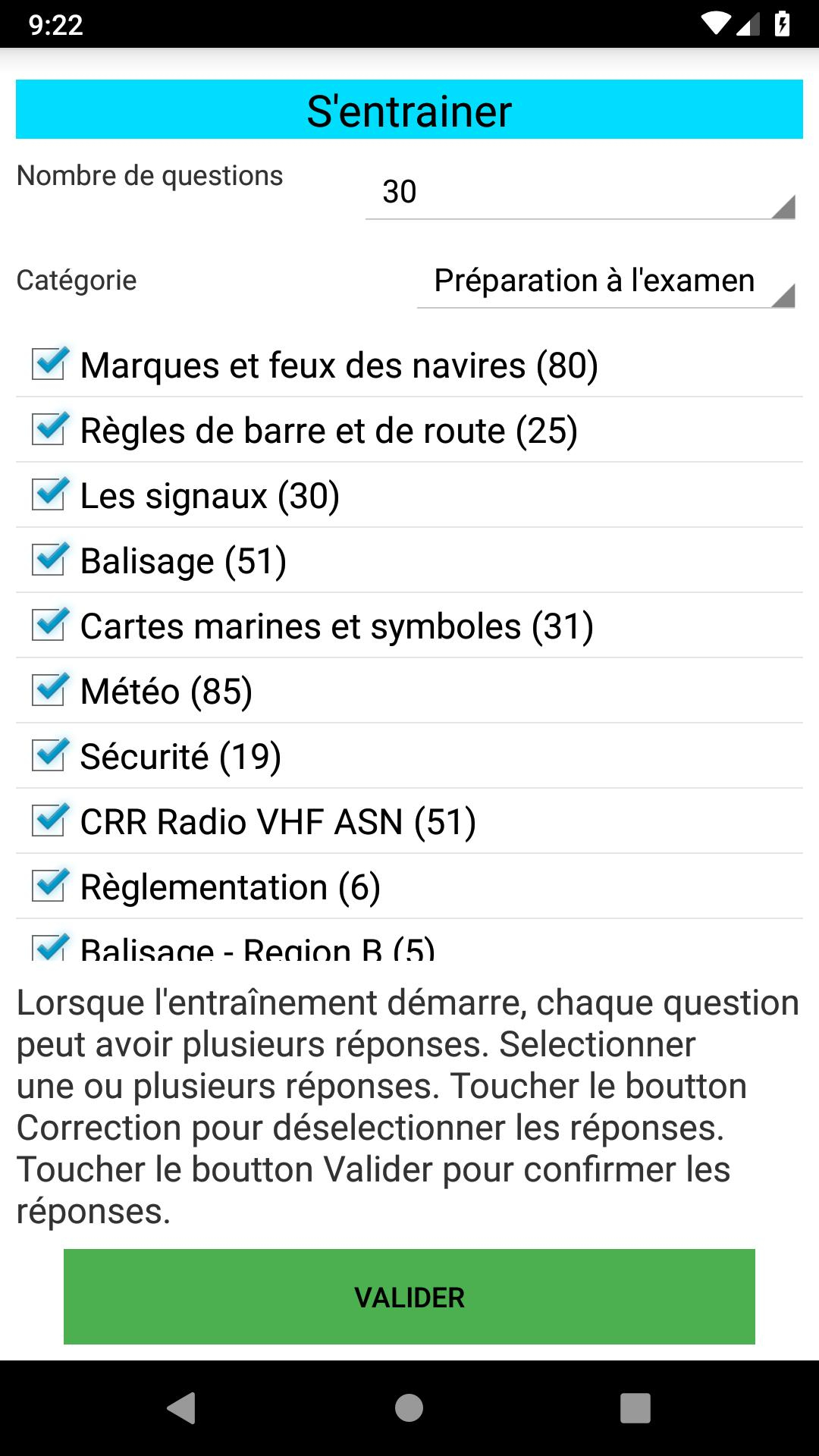 Android Için Permis Côtier - Apk'yı İndir avec Nombre De Region