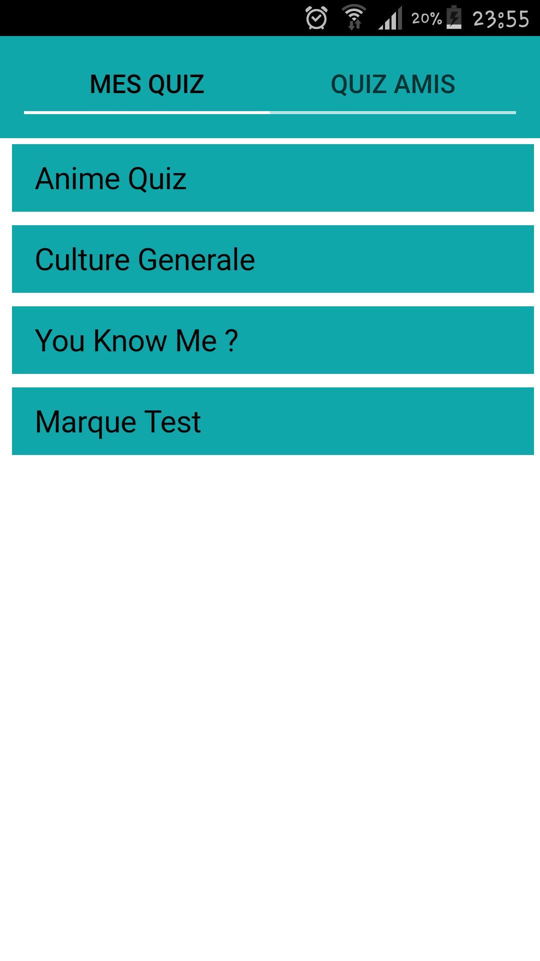 Android Için Quizup Maker - Quiz Tes Amis - Apk'yı İndir pour Quiz En Ligne Gratuit