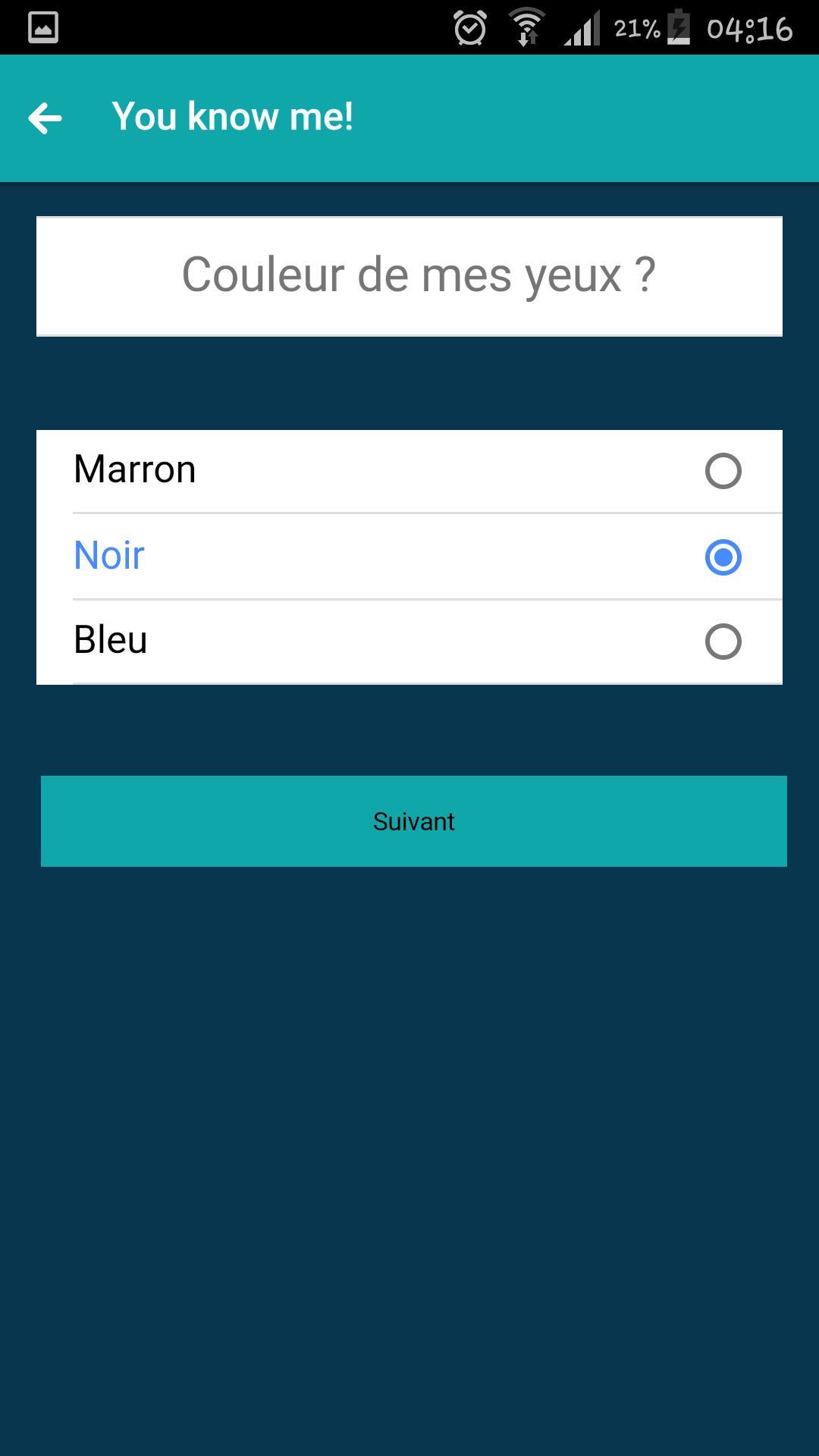 Android Için Quizup Maker - Quiz Tes Amis - Apk'yı İndir tout Quiz En Ligne Gratuit