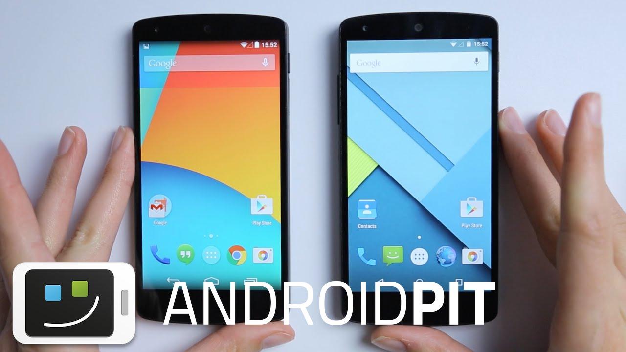 Android Lollipop Vs Android Kitkat : Les Différences En 5 Points ! concernant Les 5 Differences