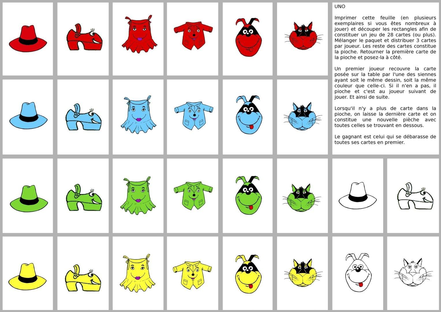 Anglais Jeux Loto Animaux intérieur Apprendre Le Nom Des Animaux