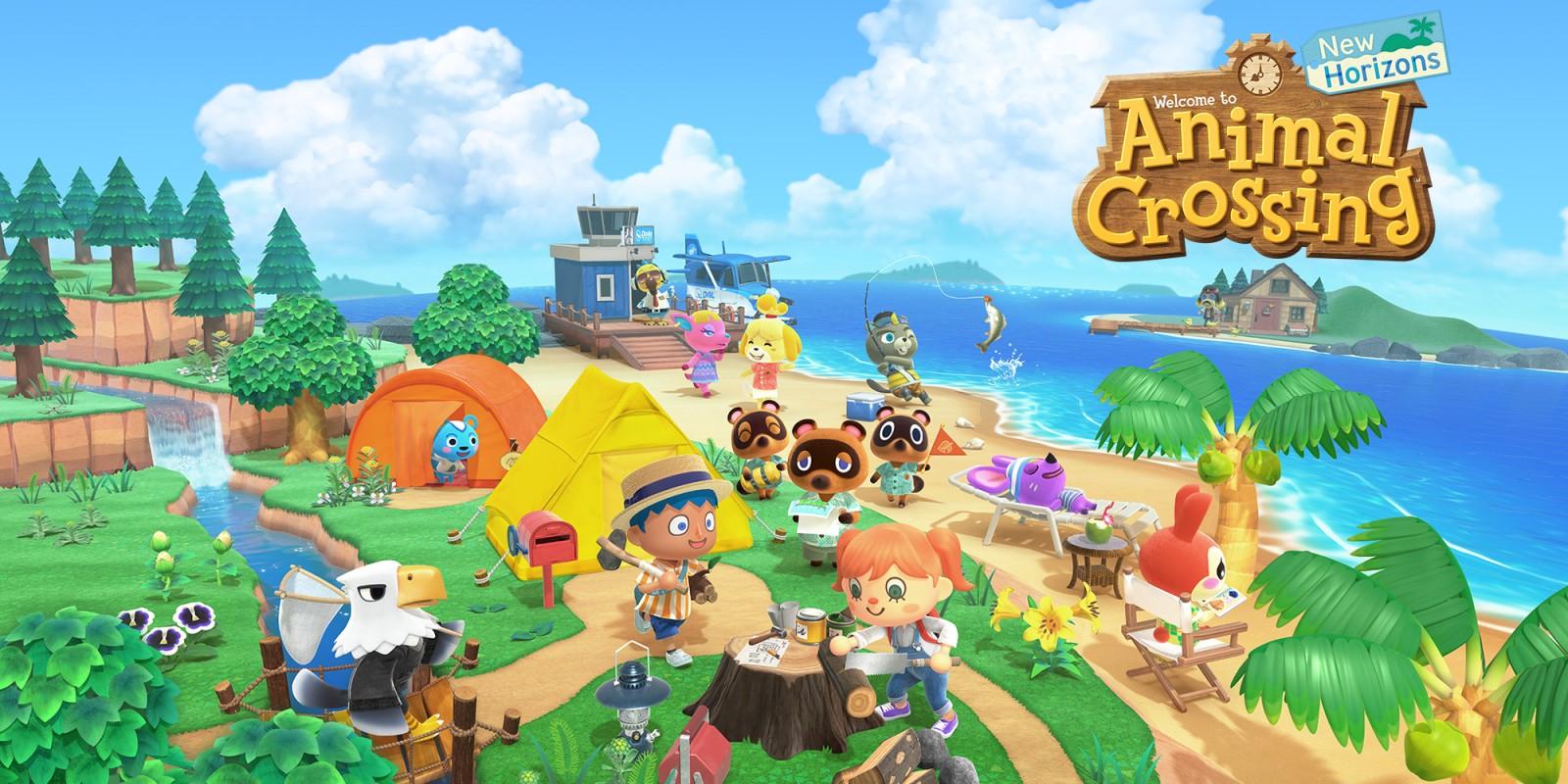 Animal Crossing: New Horizons | Nintendo Switch | Jeux destiné Jeux Gratuits À Télécharger Pour Tablette