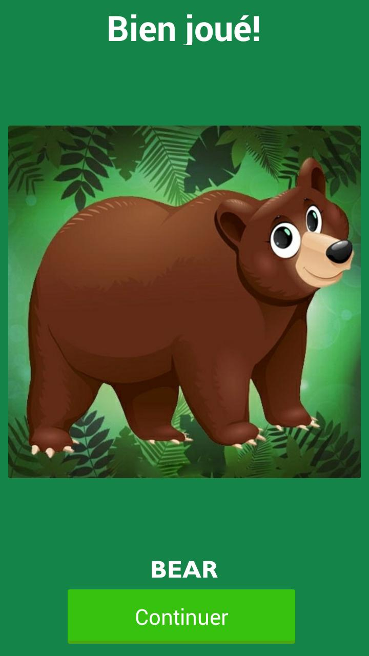Animal Puzzle Names For Kids For Android - Apk Download dedans Puzzle Gratuit Facile