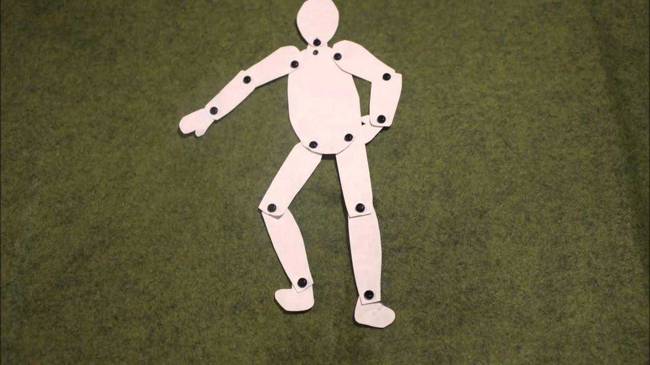 Animation Avec Un Pantin tout Pantin Articulé Patron