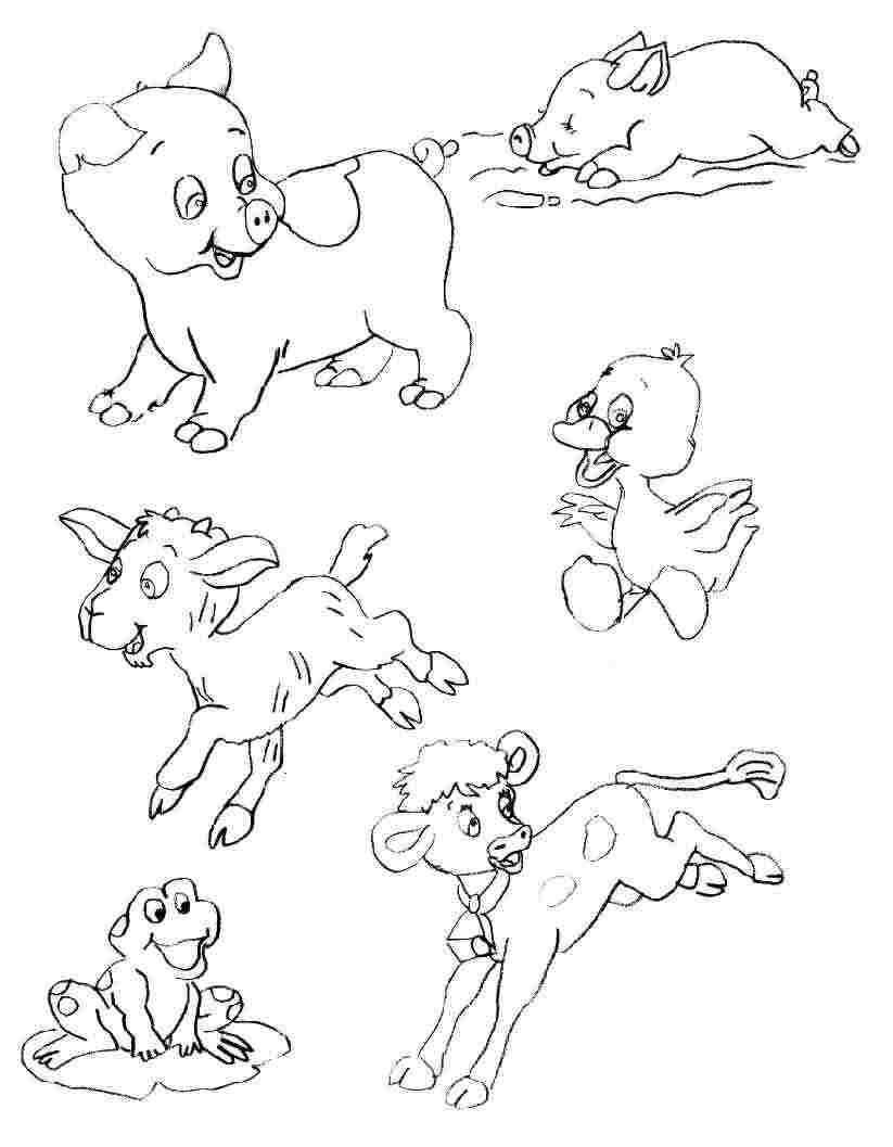 Animaux De La Ferme #8 (Animaux) – Coloriages À Imprimer concernant Dessin Animaux De La Ferme À Imprimer